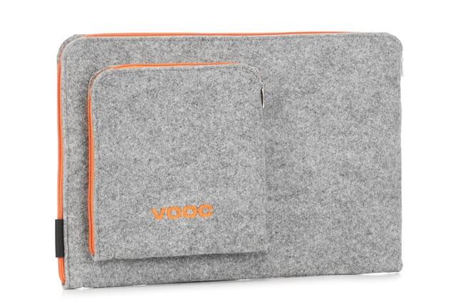 Image of Etui z filcu na laptopa EPD1 Gray