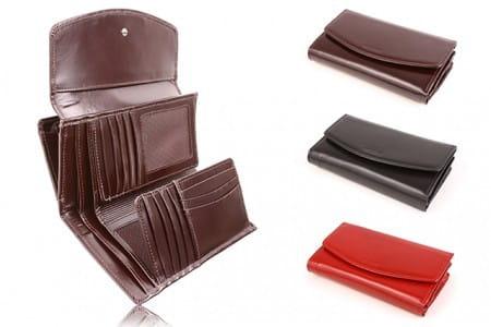 Duży skórzany portfel damski PPD6